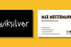 Visitenkarte-Quicksilver