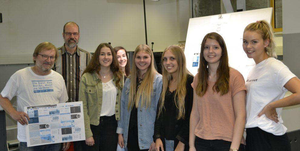Druckworkshops der ersten Mediengestalterklasse