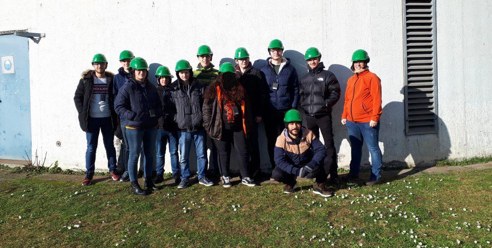 Umwelttechnik-Exkursion in das Steinkohlekraftwerk Altbach/Deizisau